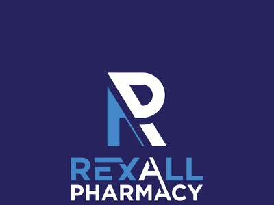 Rexall Pharmacy logo creative logo graphic design modern logo branding custom logo corporate minimal typography professional logo business logo