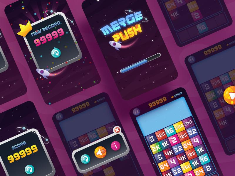 Merge push Game UI