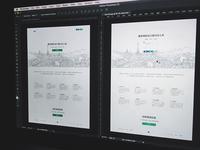 Re-designing Landing Page
