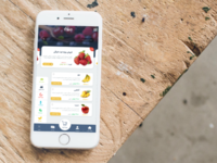 Fruit Shopping App
