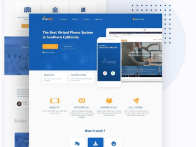 Voip web ui design