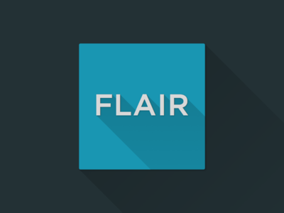 Flair | long shadow
