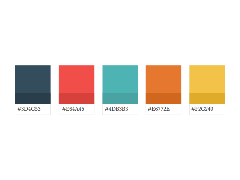 Color palette exploration color