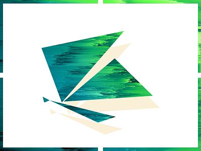 Flying 2 pixel sorting illustration color