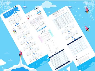 ui ux design for Exparta Advisor. design app branding website web ux ui