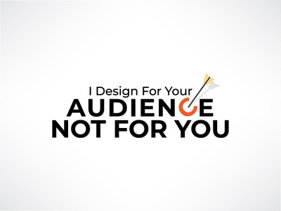 Design not for you