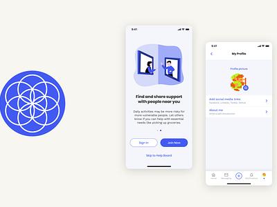 FP React Application - 2020 i ux branding graphic design