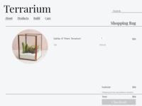Terrarium Checkout