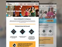 Gym Website - Fulcrum in PDX