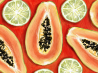Papaya & Lime