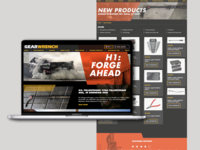 GearWrench Website Design