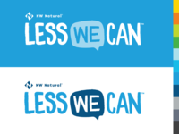 Less We Can branding