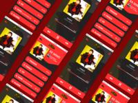 Music Player App Design -  ( Debut Shoot )