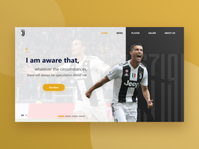 Juventus Football Club Landing Page