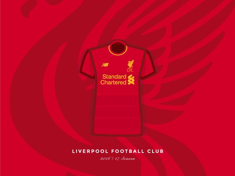 57623d234f6 Liverpool FC Home Kit - 2016 17 kit new balance klopp new season 201617 home