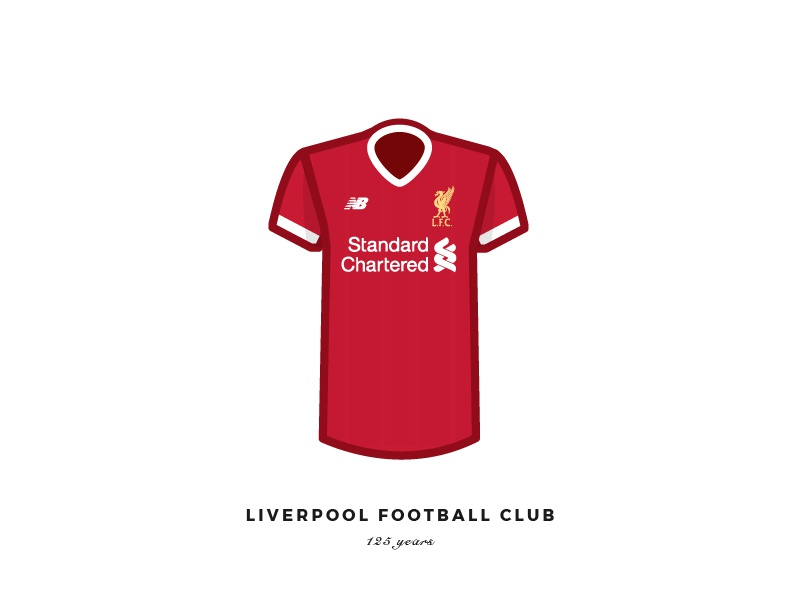 new arrival c70cd d20c1 Liverpool Fc by Lewy Dohren on Dribbble