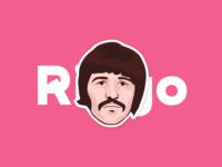 Ringo Starr - UK Sticker Contest