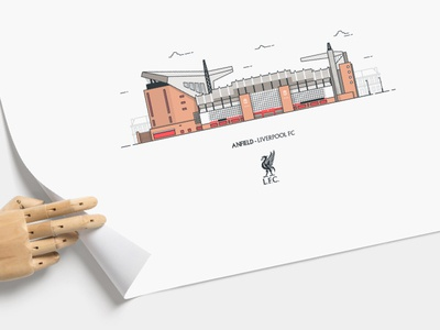 Anfield Illustration