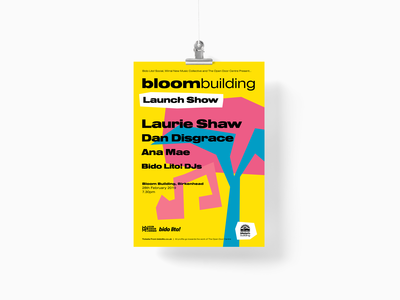Bloom Launch Poster