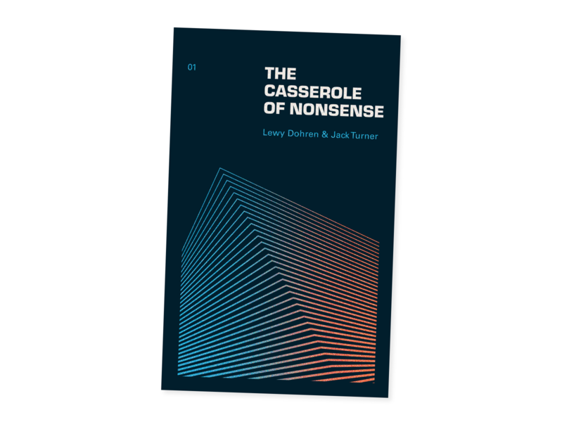 The Casserole of Nonsense trippy editorial print story teller stories writer poet