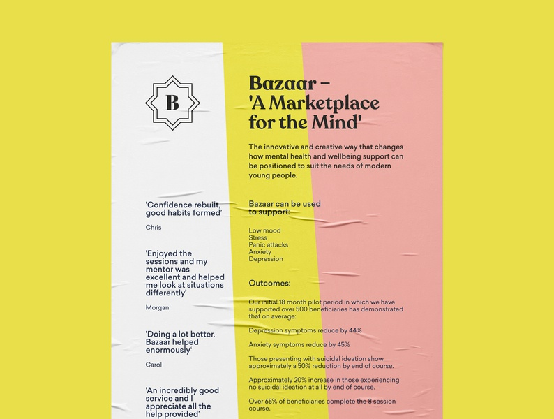 Bazaar Stakeholder Poster music uk liverpool typography branding vector illustration design print poster