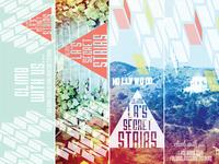 Climb LA's Secret Stairs bookmarks