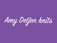 Amy Detjen Knits— unused option
