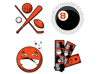 Bar website icons