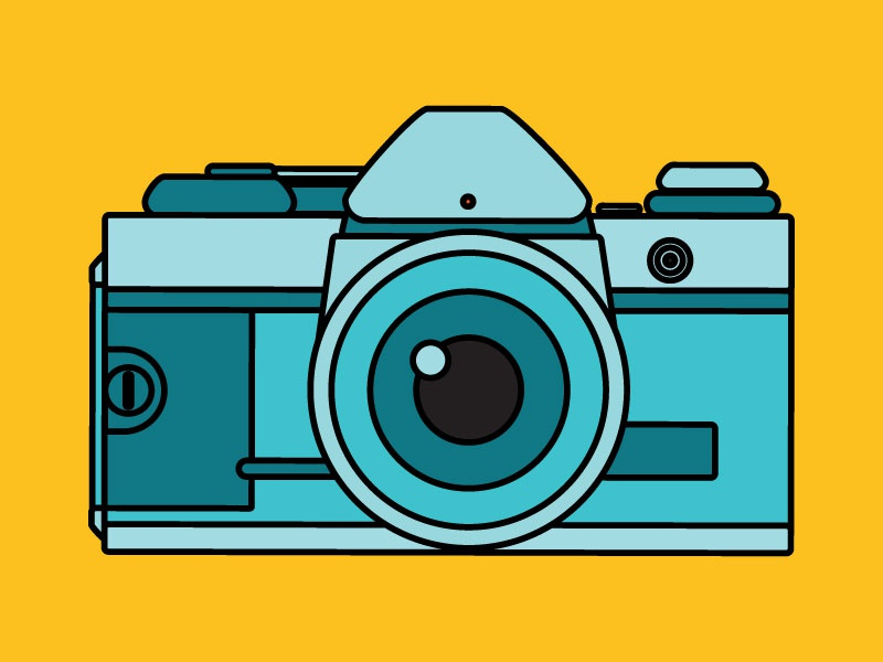 The best 35mm of all time... the Canon AE Program-1 35mm illustration camera tutorial photo photography