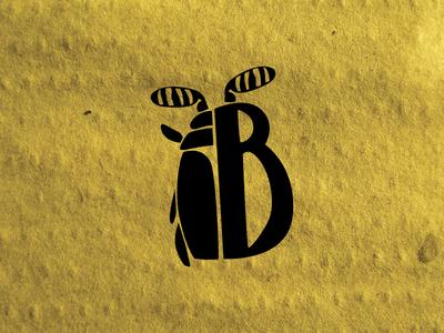 The Entomologist's Icon handlettering vector illustration icon b bug beetle