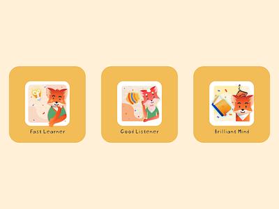 Mobile app rewards for students illustrator adobe illustrator vector appreciation rewards app rewards mobile illustration