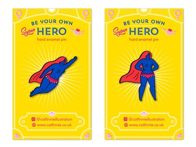 Superhero enamel pin design design character women superhero illustration lapelpin pingame enamelpin