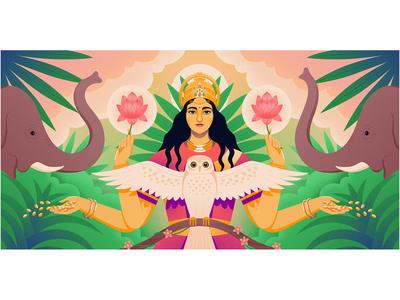 Medium: Goddess - Lakshmi