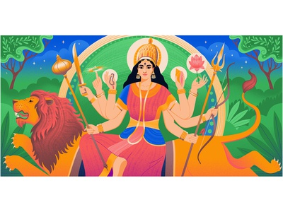 Medium: Goddess - Durga