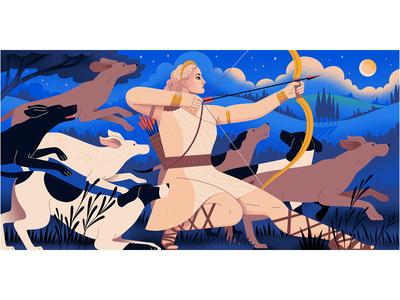 Medium: Goddess - Artemis