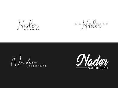 Nader Nadernejad calligraphy typography logo illustration digital art design graphic design