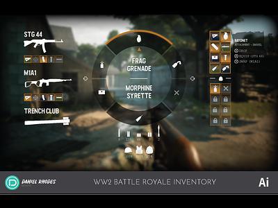 World War 2 Battle Royale Inventory Concept (2019)