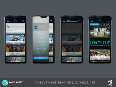 Achievement Tracker with Games Suite - Main App (2018)