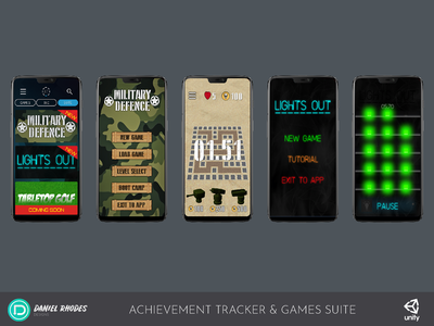 Achievement Tracker with Games Suite - Mobile Games (2018)