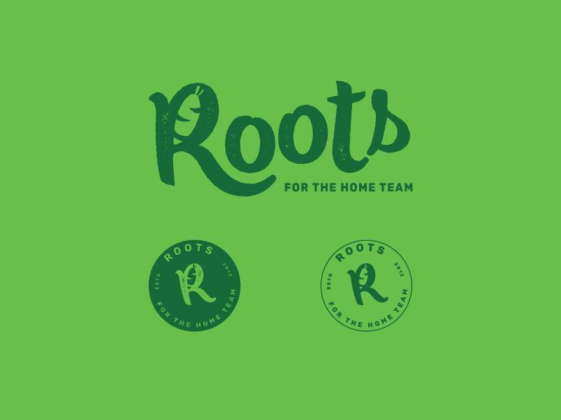 Roots V3 identity rebrand logo