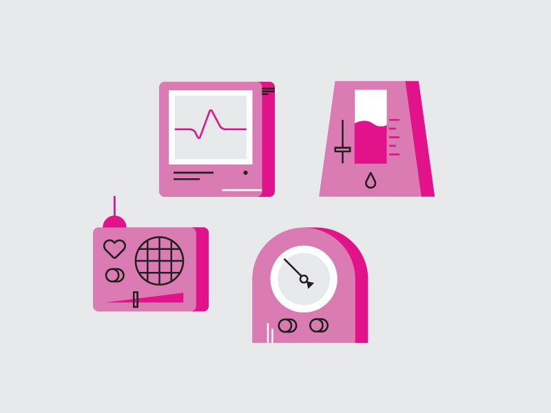 Icons rejected pink icons icon abstract