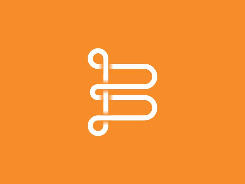 B logo dribbble