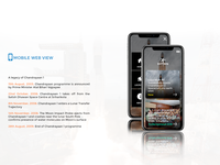 ISRO - Mobile Web View