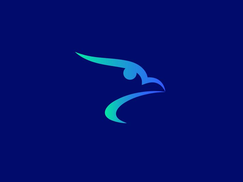 Eagle unique logo creative logo simple eagle logo bird bird logo line art branding creative eagle logo falcon falcon logo eagle logo eagle