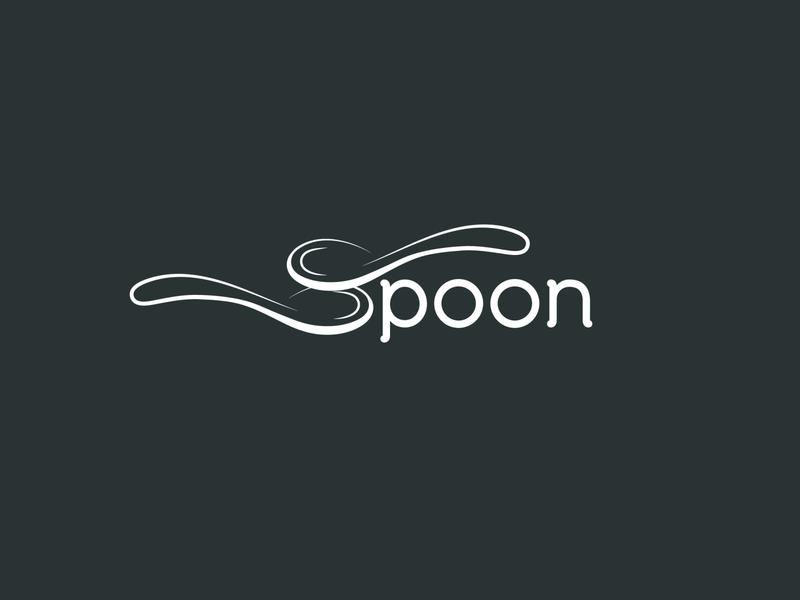 Spoon logo inspiration logo design logo mark wordmark logo unique logo minimal logo restaurant logo food logo branding logo branding simple spoon logo creative spoon
