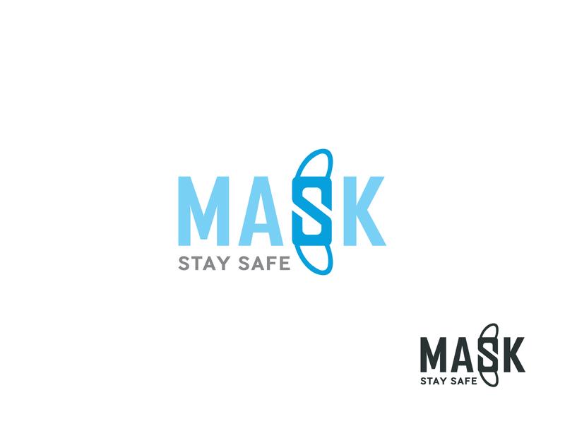Mask Logo logo design simple logo branding identity creative logo ux ui doctor logo branding logo branding minimal logo covida logo safe logo mask logo mask