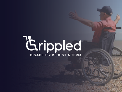 Crippled ! wordmrak logo wordmark hospital logo crippled medical logo doctor logo medical care care logo medical logo logo logo design disability logo disability human logo wheelchair logo wheelchair crippled logo crippled