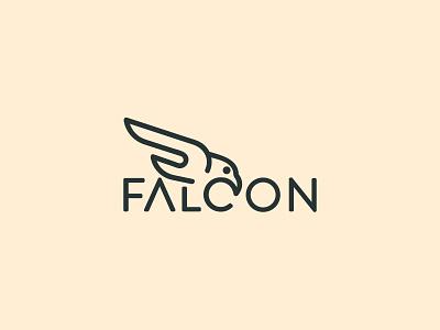 Falcon Logo ! eagle logo logo desing sea birds sea logo birds logo birds minimal logo minimal egale branding design branding logo idea flat logo creatie logo wordmark logo wordmark
