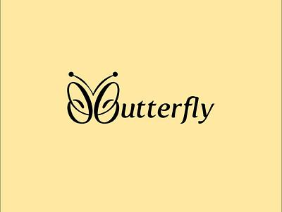 Butterfly Logo minimal minimal logo apparel logo fashion logo butterfly wordmark logo wordmark logo wordmark butterflay logo