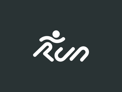 RUN Logo r r logo running logo logo app run cycle logo branding running app wordmark logo wordmark logo design sports logo sports runner runner logo athletic logo athletic run logo run